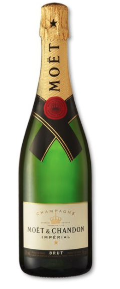 Moët & Chandon Brut Imperial NV (6 x 750mL), Champagne, France.
