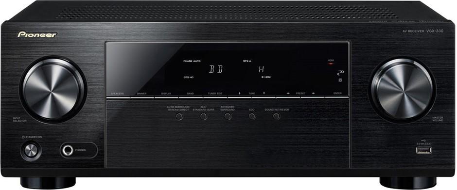 Pioneer VSX-330 5.1ch AV Receiver w/ TrueHD, DTS-HD and UHD 4K Pass Through
