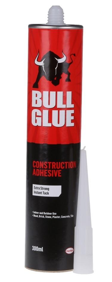 12 x BULL GLUE General Purpose Adhesive 300ml Suitable for Indoor & Outdoor