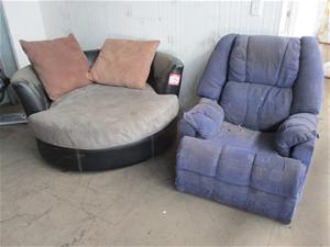 Janda Circular Lounge Auction 0134 7019140 Grays Australia