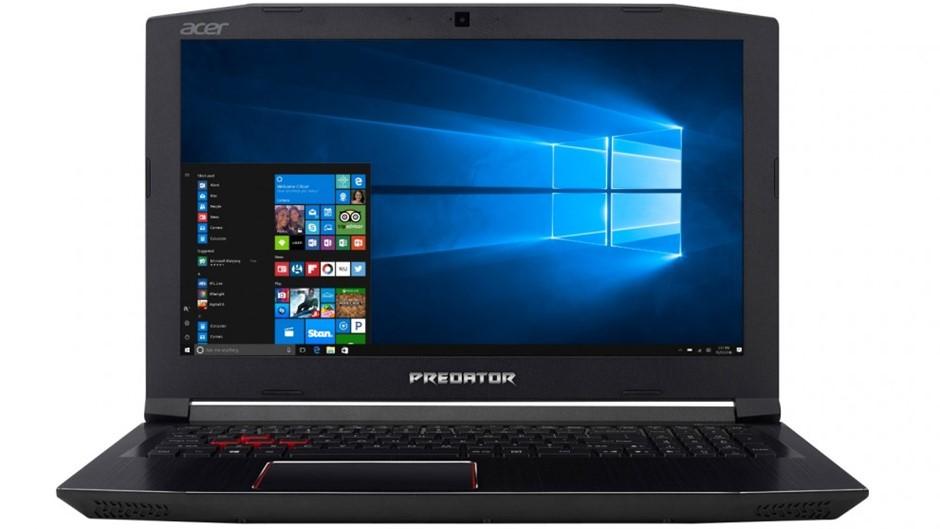 Acer Predator Helios 300/i7-7700HQ/16GB/128GB SSD + 1TB HDD/6GB GTX 1060