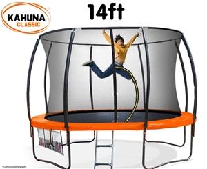 Kahuna Trampoline 14 ft - Orange