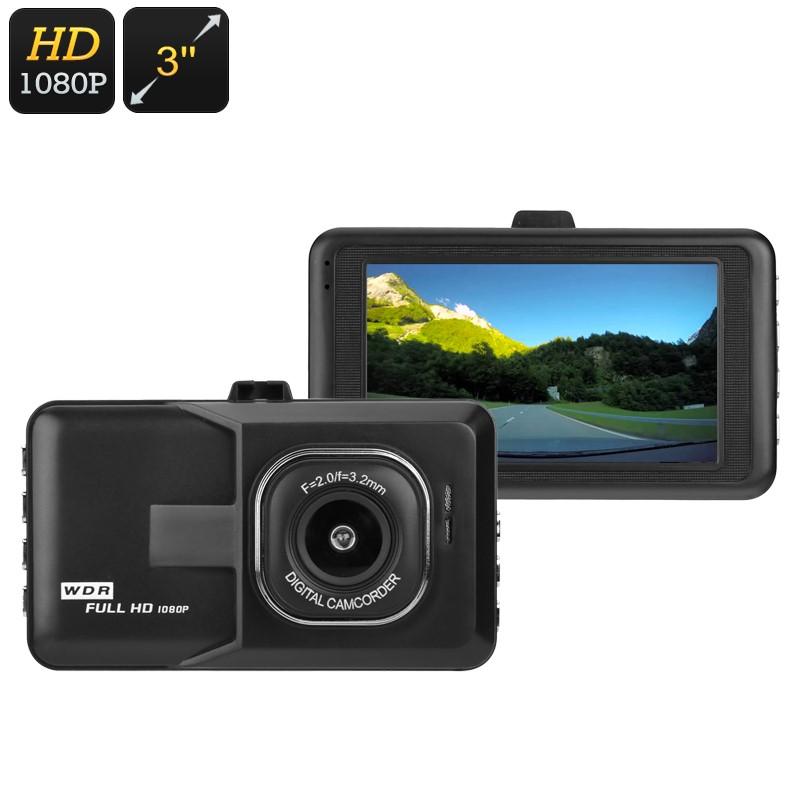 Dash Cam Pro Car DVR Night Vision WDR Full HD Wide Angle Dashboard Camera