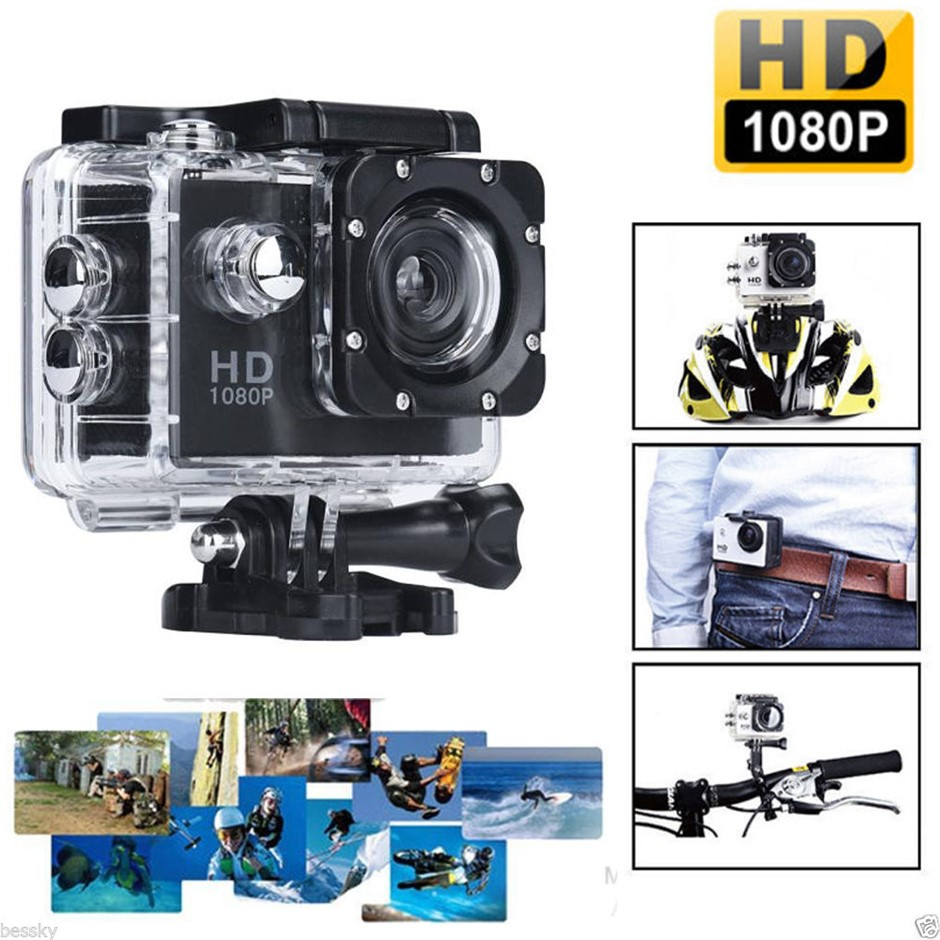 S6000 HD Waterproof Sports DV 1080P Action Camera 5MP