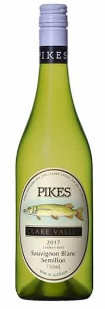 Pikes `Valley's End` Sauvignon Blanc Semillon 2017 (6 x 750mL), SA.