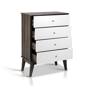 Artiss 4 Chest of Drawers Storage Cabine