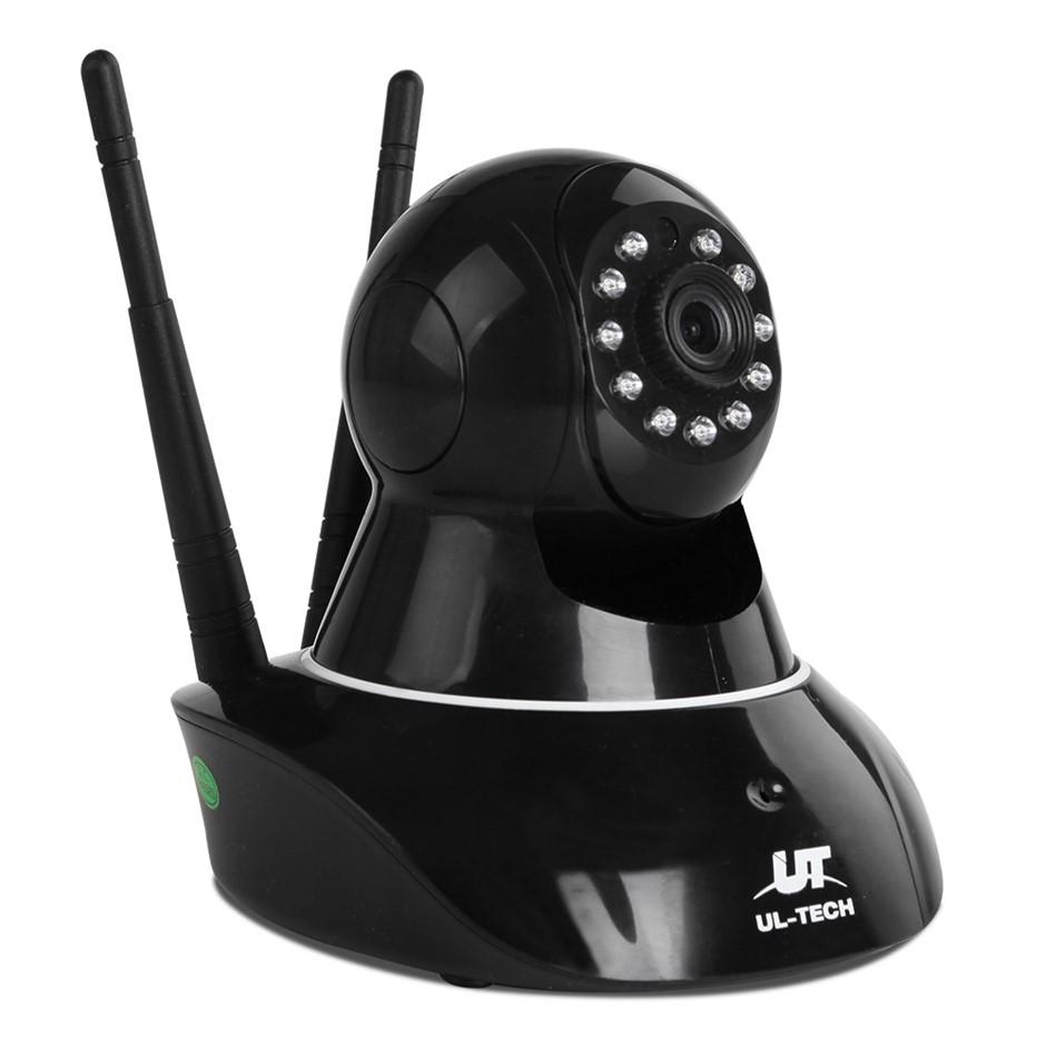 UL Tech 720P WIreless IP Camera - Black