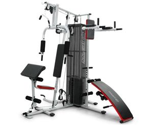 Powertrain Multi-Station Home Gym with w