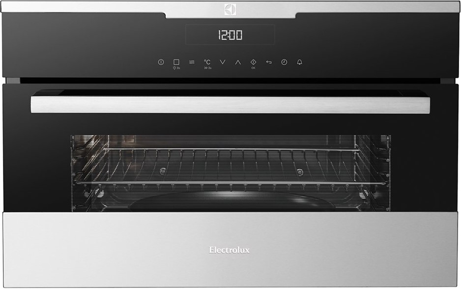 Electrolux 38cm Electric Built In Combination Microwave Oven Evem677sc