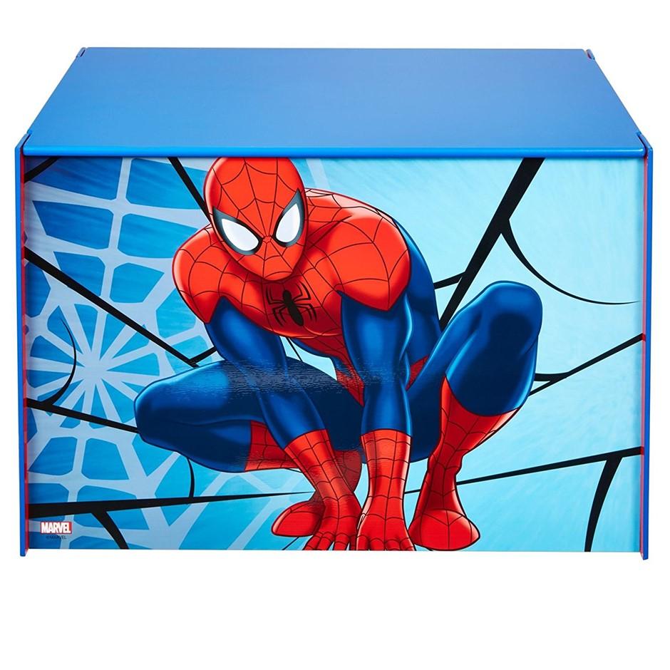 MARVEL Ultimate SPIDERMAN Toy Box, 39.5cmx39.5cmx60cm. Buyers Note - Discou