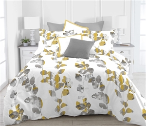 Printed Quilt Cover Set Liana - DOUBLE