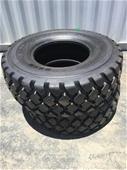 Unreserved Unused Earthmoving Tyres - 17.5-25
