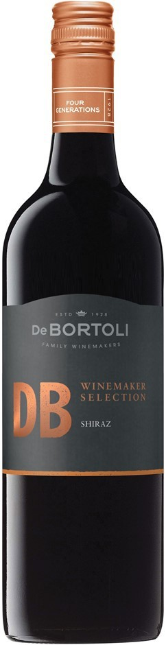 De Bortoli DB Winemaker Selection Shiraz 2017 (6 x 750mL), NSW