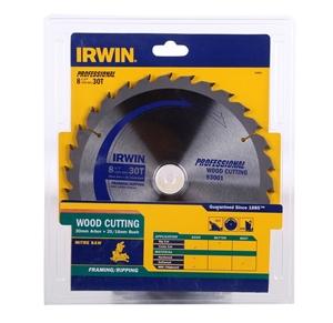 4 x IRWIN Wood Cutting Saw Blades 216mm