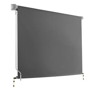 Instahut 3m x 2.5m Retractable Roll Down