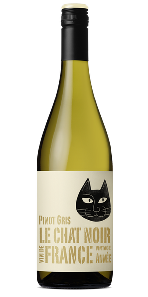 Le Chat Noir Pinot Gris 2017 (12 x 750mL), France.