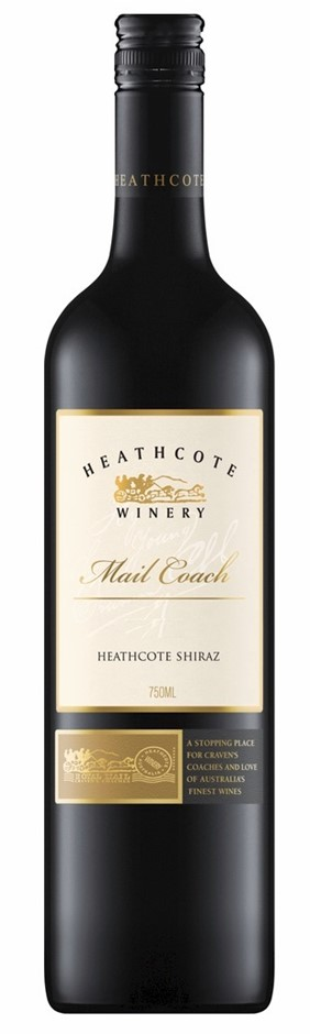 Heathcote Winery `Mail Coach` Shiraz 2017 (6 x 750mL), Heathcote, VIC.