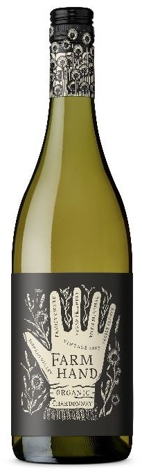 Farm Hand Organic Chardonnay 2019 (6 x 750mL), SA.