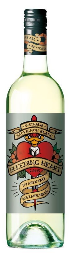 Bleeding Heart Sauvignon Blanc 2018 (12 x 750mL), SA.