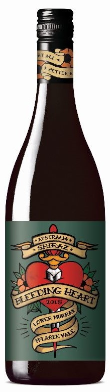 Bleeding Heart Shiraz 2018 (12 x 750mL), SA.