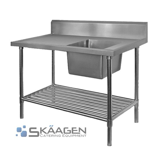 Unused Stainless Steel Sink 1900 x 600 Right positioning Dimensio