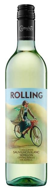 Rolling Sauvignon Blanc Semillon 2017 (12 x 750mL), Central Ranges, NSW.