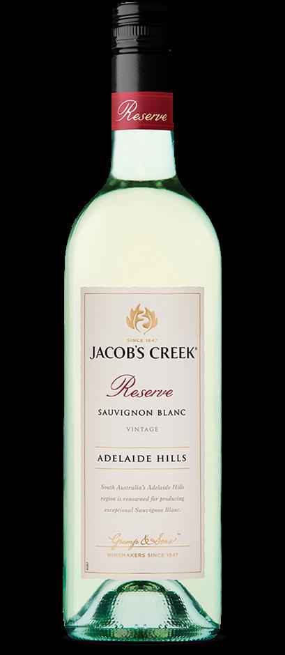 Jacob's Creek `Reserve` Sauvignon Blanc 2017 (6 x 750mL),Adelaide Hills.SA.