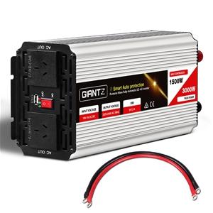 Giantz 1500W Puresine Wave DC-AC Power I