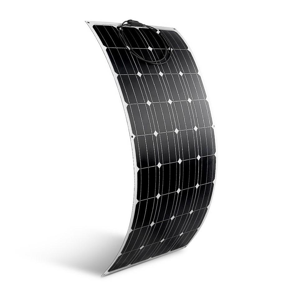 Solraiser 200W Water Proof Flexible Solar Panel