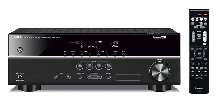 Yamaha HTR-2071 5.1-channel AV receiver (Black)
