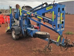 Genie Tz34 20 Trailer Mounted Boomlift Location Kalgoorlie