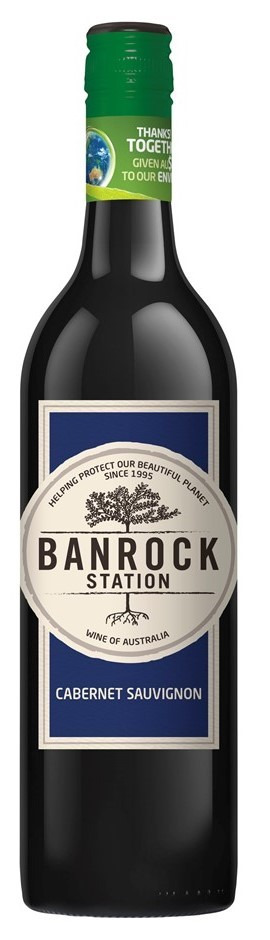 Banrock Station Shiraz Cabernet 2017 (6 x 750mL), SA.