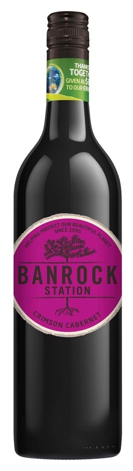 Banrock Station Crimson Cabernet 2017 (6 x 750mL), SA.