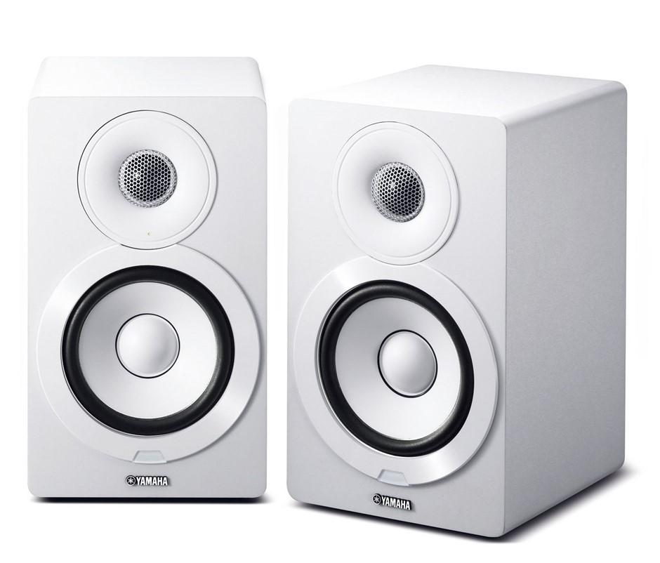 Yamaha NXN-500 Wireless Bluetooth Speakers with AirPlay (Pair) (White)