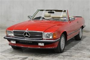 1987 Mercedes Benz 560SL Automatic Conve