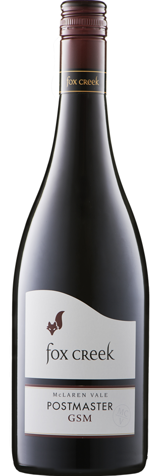 Fox Creek `Postmaster` GSM 2016 (6 x 750mL), McLaren Vale, SA.