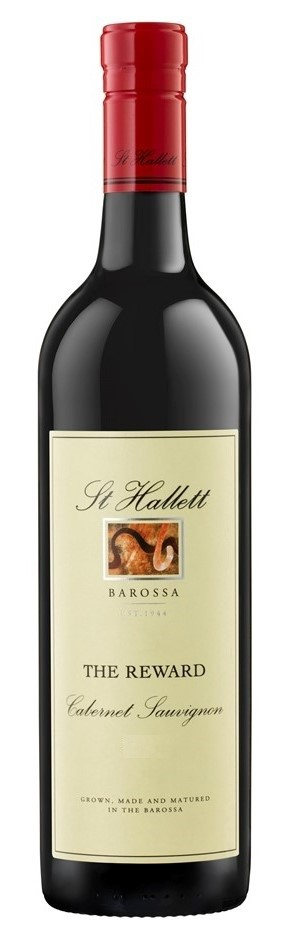 St Hallett 'The Reward' Cabernet Sauvignon 2016 (6 x 750mL), Barossa, SA.