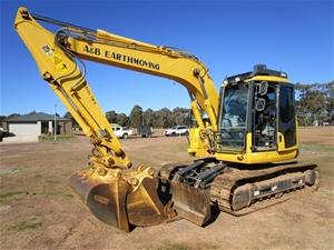 2015 Komatsu Hydraulic Excavator, Model: PC138US-8, 14 Ton