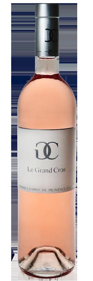 Domaine Le Grand Cros `L'Esprit Magnum` Rose 2017 (3 x 1.5L), France.