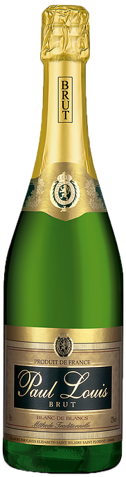 Paul Louis Blanc de Blancs NV (12 x 750mL), France.