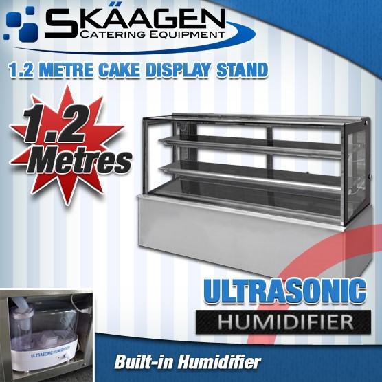 Unused Cake Display - 1200mm