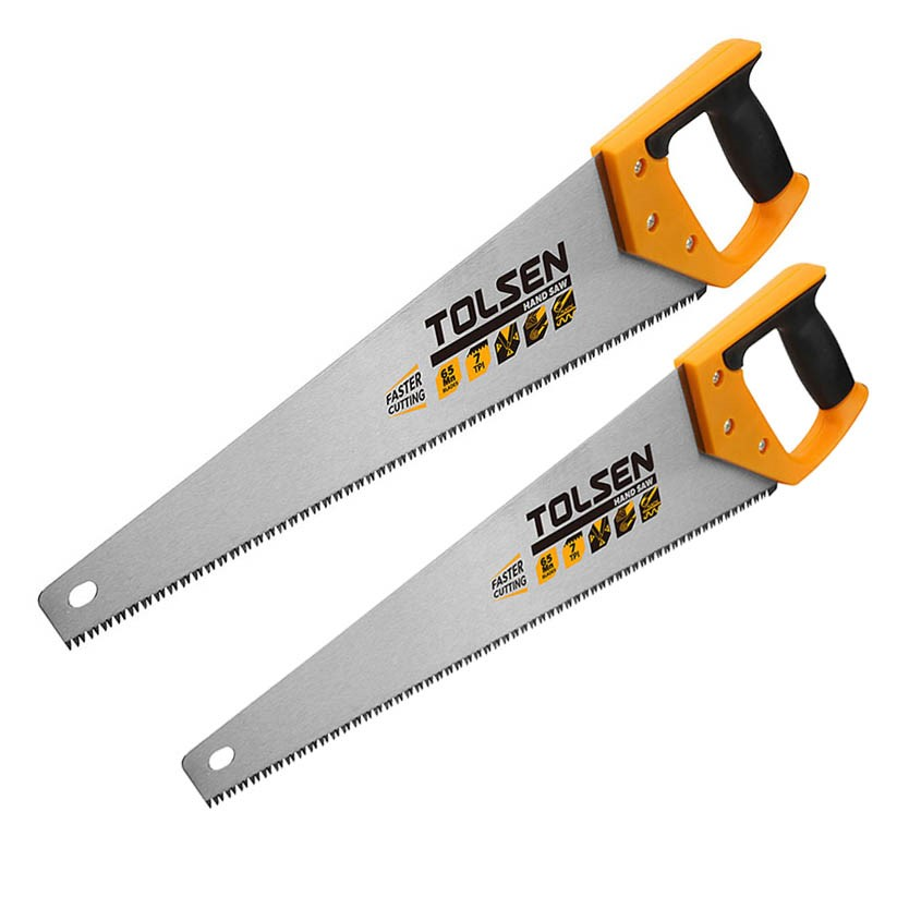 2 x TOLSEN Hand Saws, Sizes: 400mm & 500mm. Buyers Note - Discount Freight