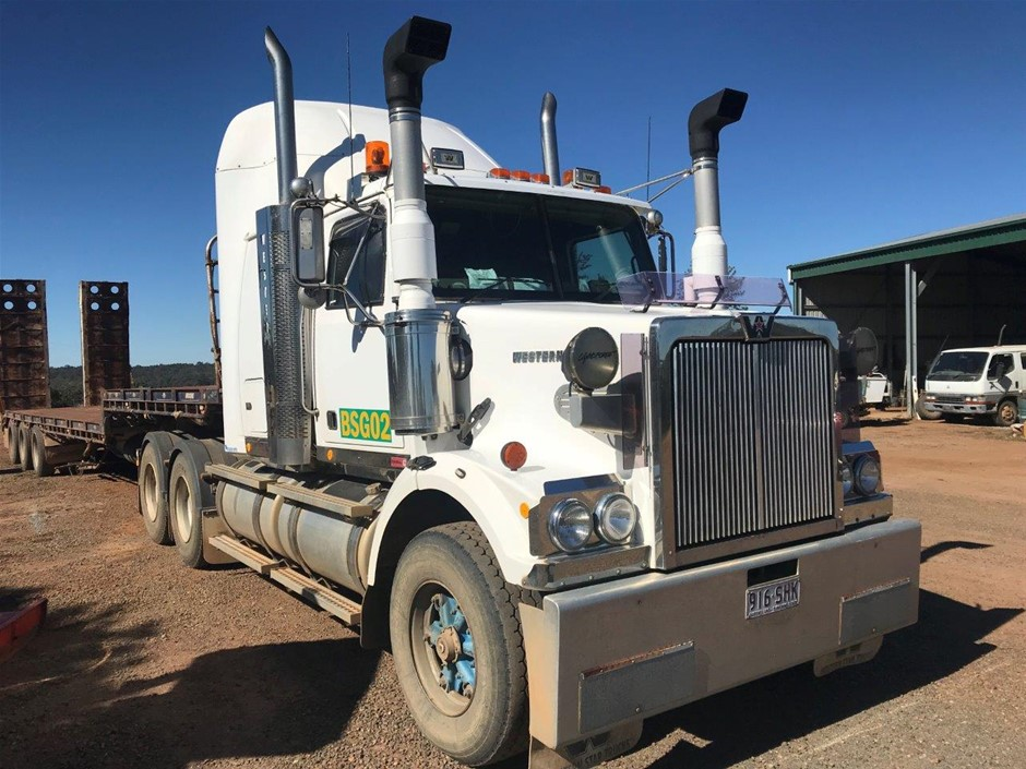 2007 Western Star 4800FX 6 x 4 Prime Mover Truck