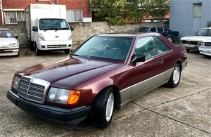 1988 Mercedes Benz 300CE W124 RWD Automatic Coupe