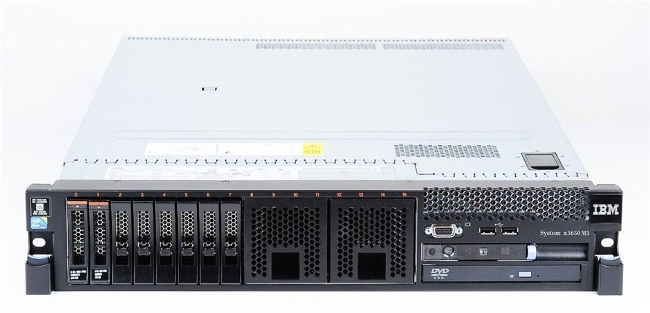 IBM System x3650 M3 Rackmount Server
