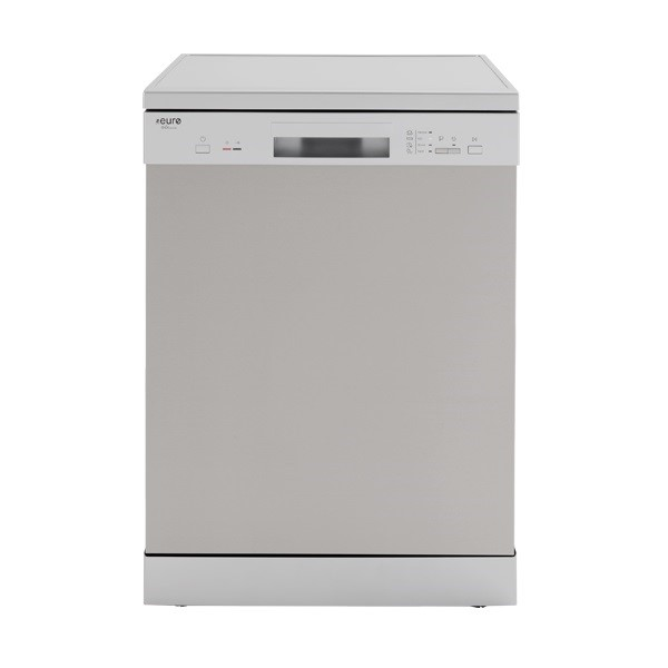 Euro Appliances EDV604SS - 60cm Freestanding S/Steel Dishwasher