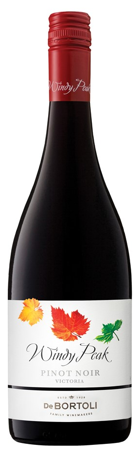 De Bortoli `Windy Peak` Pinot Noir 2018 (6 x 750mL), Yarra Valley, VIC.