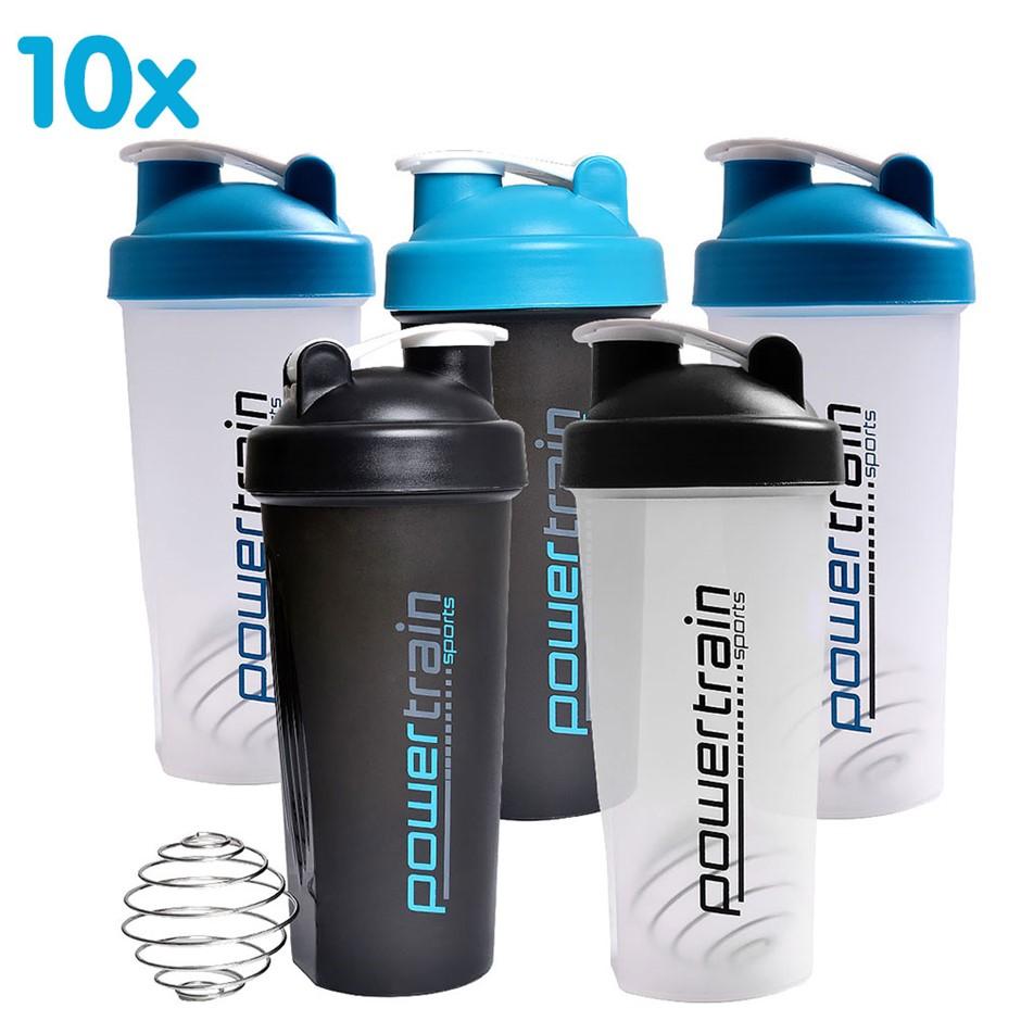 10x 700ml Protein Drink Water Bottle Shaker BPA Free Blender