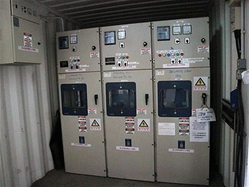Containerised Switchroom, Tunnel Communication System, Lighting and More