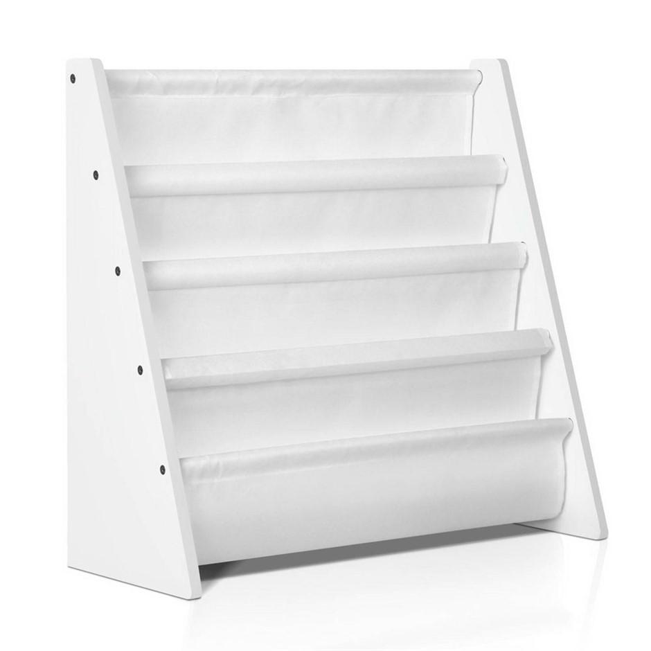 Artiss Kids Bookshelf - White - Antique Furniture Auctions Brisbane Graysonline